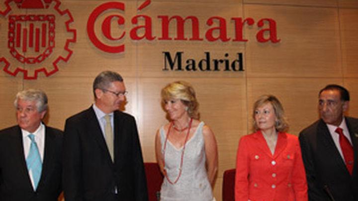 El nuevo presidente de la Cámara de Madrid promete trabajar por la defensa de las empresas