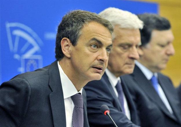 Zapatero, en el Parlamento Europeo