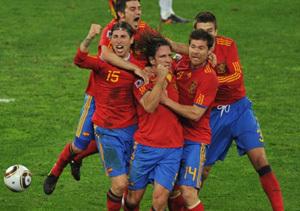 España gana la semifinal del Mundial