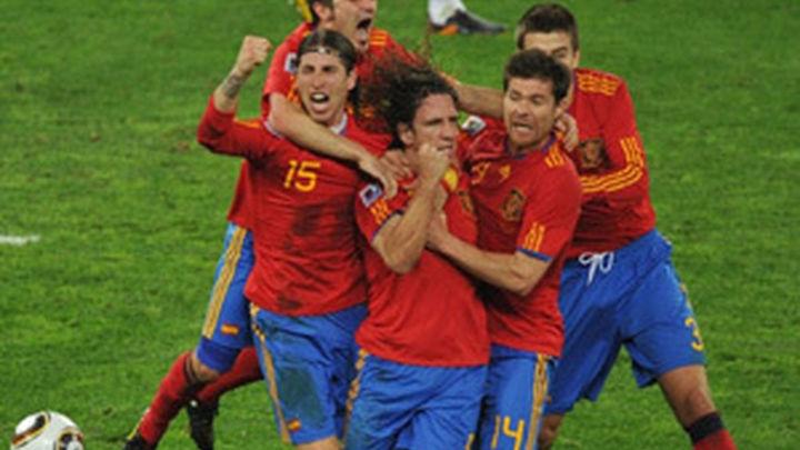 España se mete en la final de Sudáfrica
