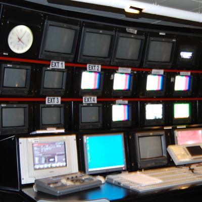Control estudio Telemadrid