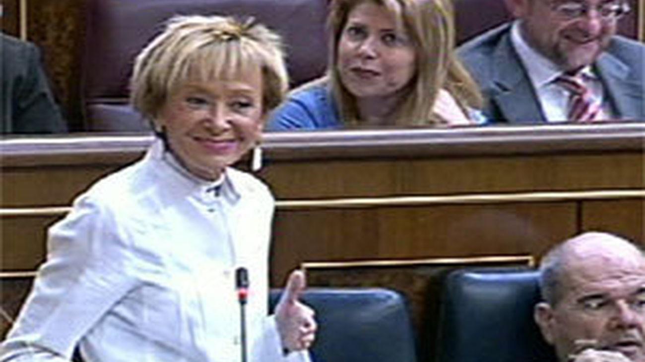 Fernandez de la Vega en el Congreso