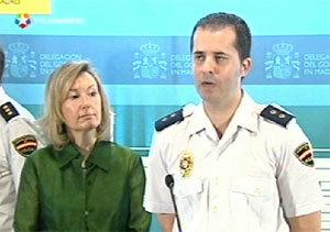 delagada del Gobierno y responsable policial