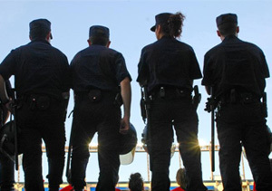 Menos policía para Madrid