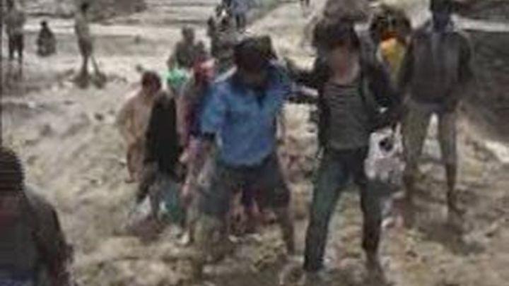 Un desaparecido y una herida en la India por las inundaciones
