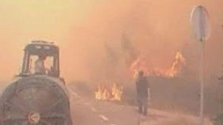 La bajada de las temperaturas da una tregua a Portugal