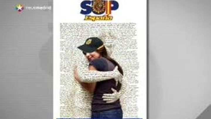 """Abrazos"" para las policías de Melilla"