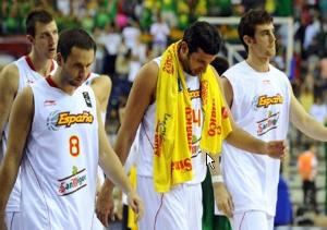 Desolación en la selección española