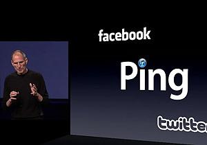 Steve Jobs presenta Ping, la nueva red social de Apple
