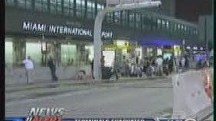 Una maleta sospechosa obligó a evacuar el aeropuerto de Miami