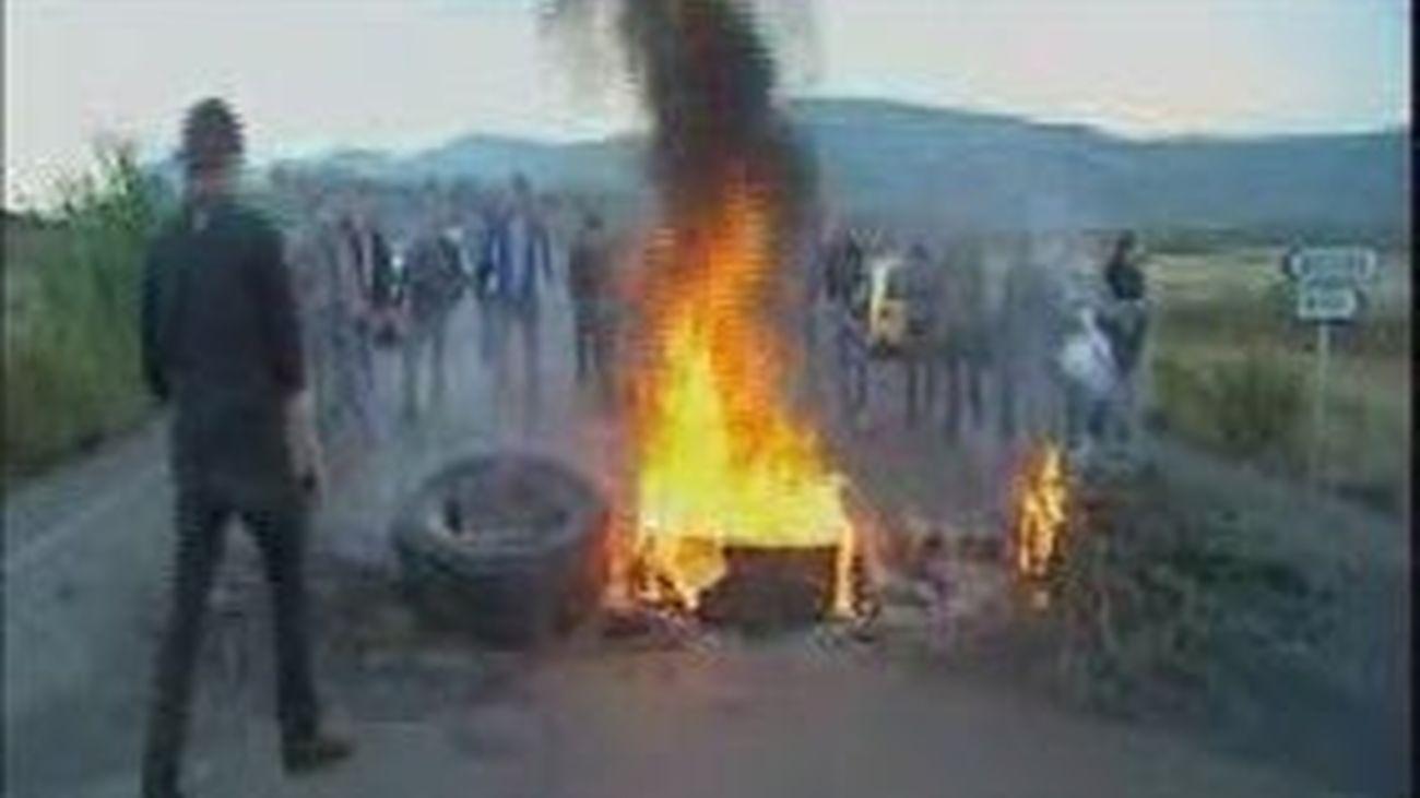 Mineros protestas continúan
