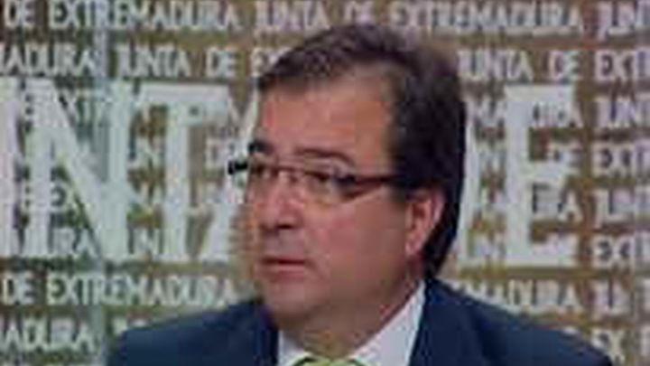 Fernández Vara: No veo a Rubalcaba como el lider del PSOE en los próximos diez años