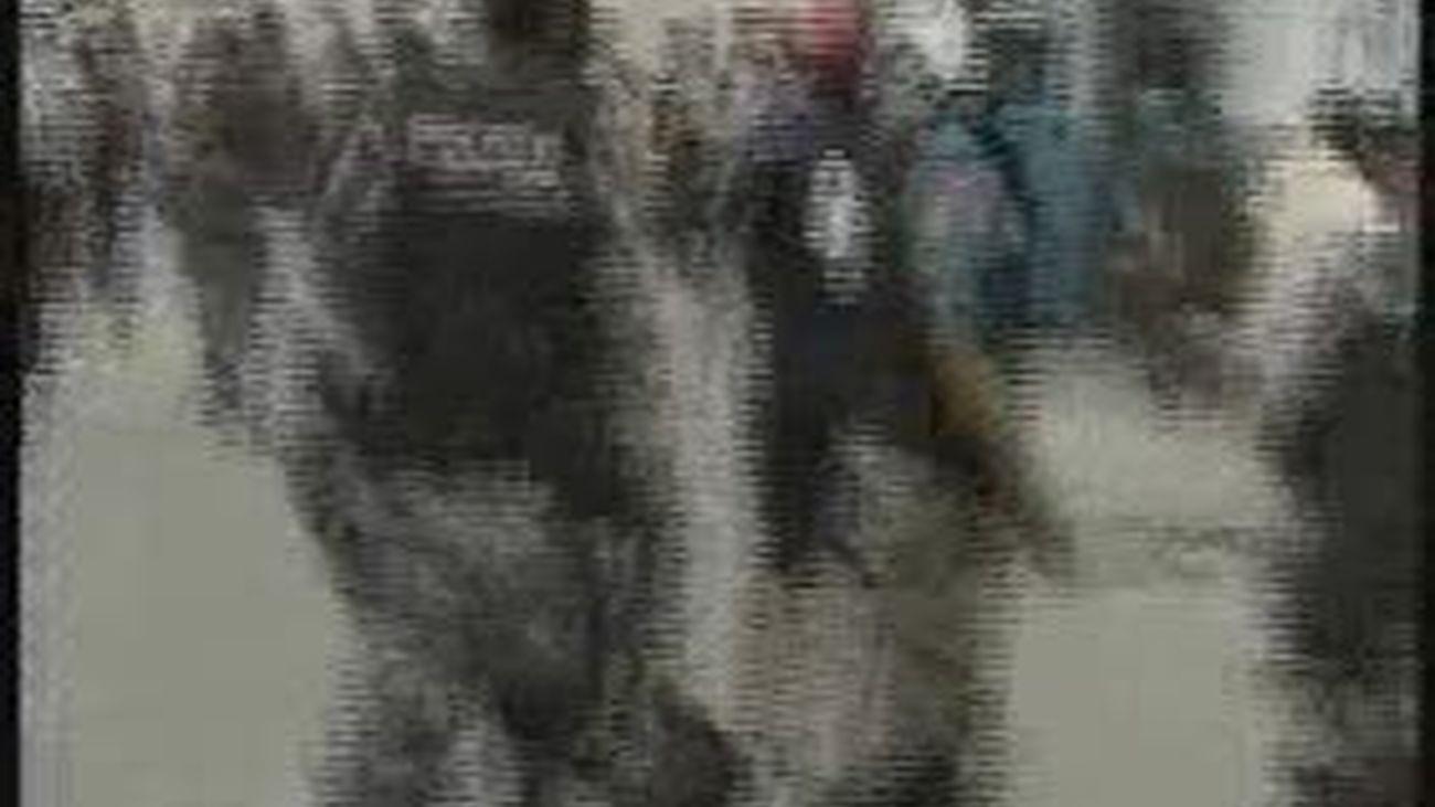 Protesta policial en Ecuador