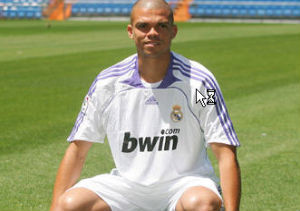 Pepe, defensa del Real Madrid