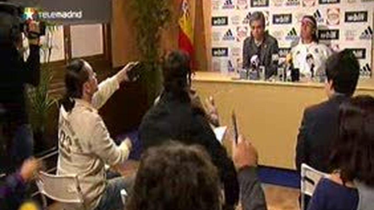 Sergio Ramos, traductor de Mourinho