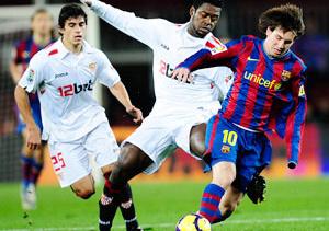 Destacado fútbol Barcelona - Sevilla