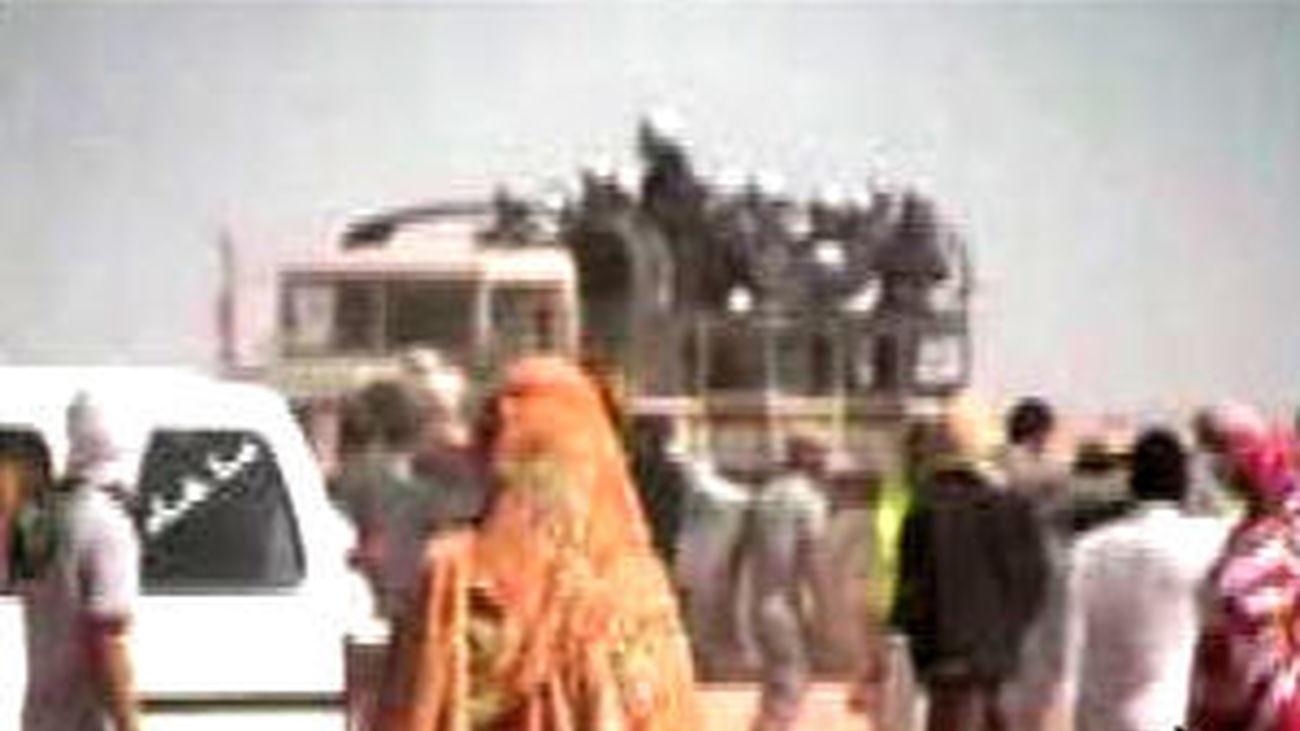 La policía marroquí expulsa del Sáhara Occidental a varios españoles