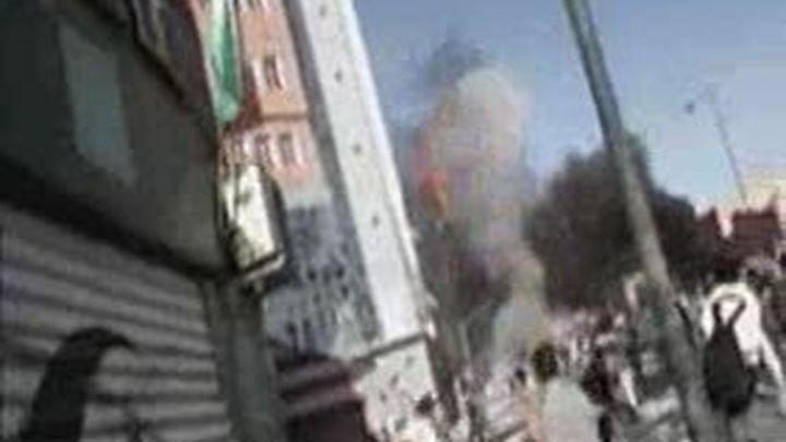 Marruecos reprime en el Aaiun un campamento saharaui