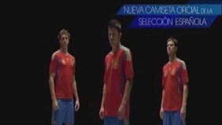 La Selección Española de Fútbol presenta su nueva camiseta