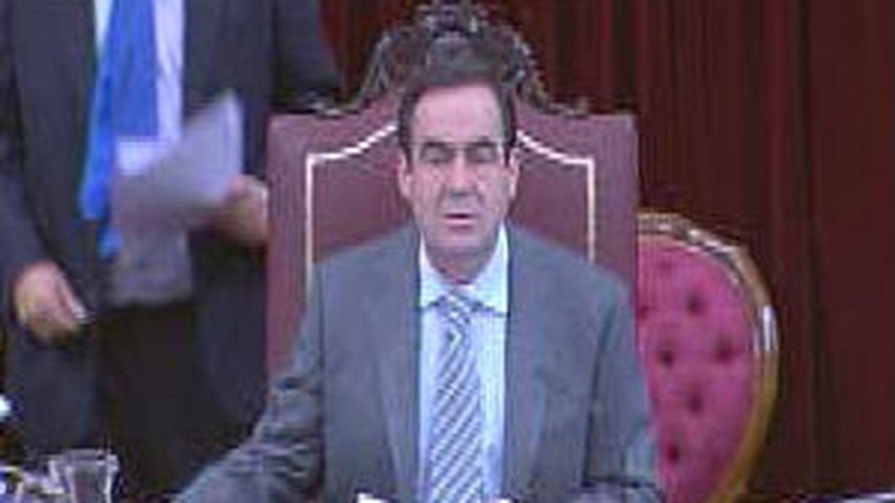 José Bono, presidente del Congreso de los Diputados