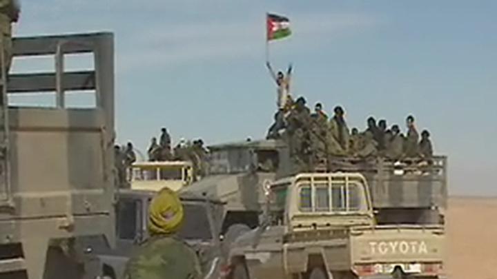 El Frente Polisario moviliza a sus combatientes en Tinduf