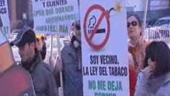 Hosteleros y camareros, en pie de guerra contra la Ley del Tabaco