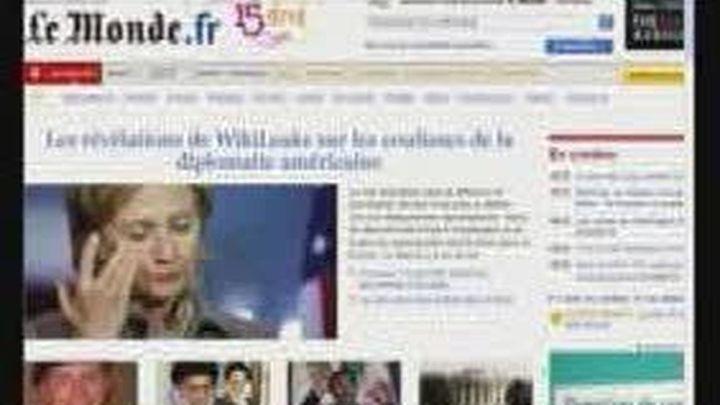 Clinton dice que filtración de Wikileaks es un ataque a EEUU y a la comunidad internacional