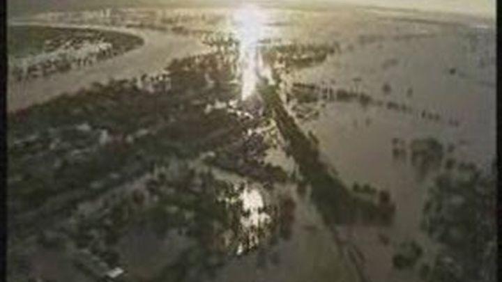 Las inundaciones en Australia afectan a un área igual a Alemania y Francia juntas