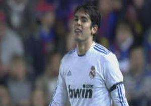 Kaká volvió a jugar unos 30 minutos