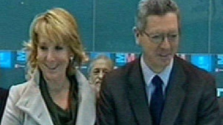 Aguirre y Gallardón destacan en FITUR la pujanza del sector turístico madrileño pese a la crisis