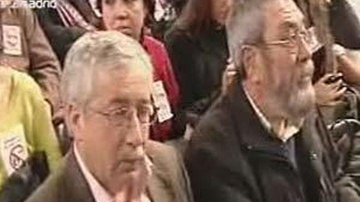"""Méndez y Toxo ven """"grotesco"""" y un """"disparate"""" vincular pensiones y nucleares"""