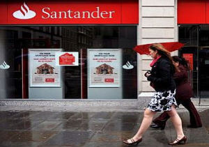 Banco Santander lideró de nuevo el ránking de beneficios
