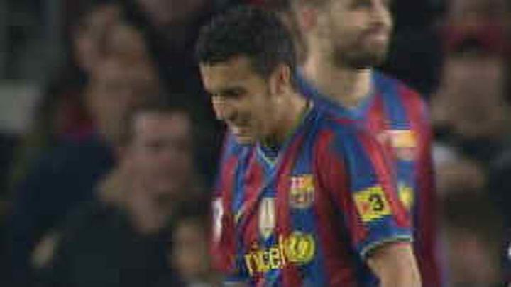El Valencia no pudo con un Barcelona que se va a 10 puntos del Madrid