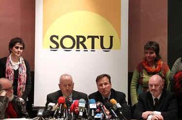 La Fiscalía pretende que Sortu no esté en las próximas elecciones