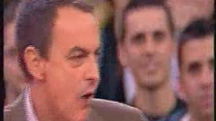 Zapatero niega que la suspensión del mitin de Vistalegre tenga que ver con su sucesión
