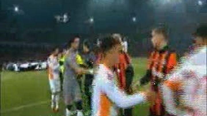 Primer equipo ucranio en cuartos de final de la Champions