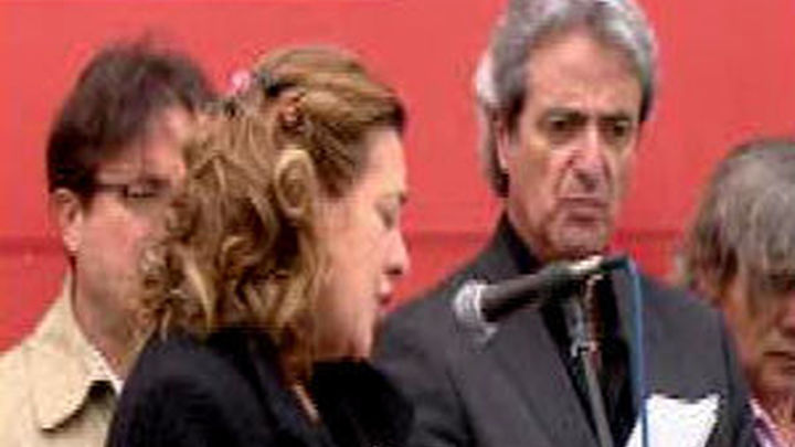 Manjón arremete contra el Ayuntamiento de Madrid durante un homenaje al 11-M