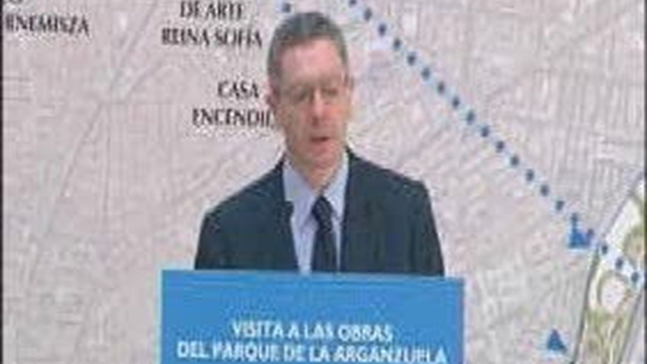 El proyecto Madrid Río permite triplicar el espacio  del parque de la Arganzuela, a punto de concluir