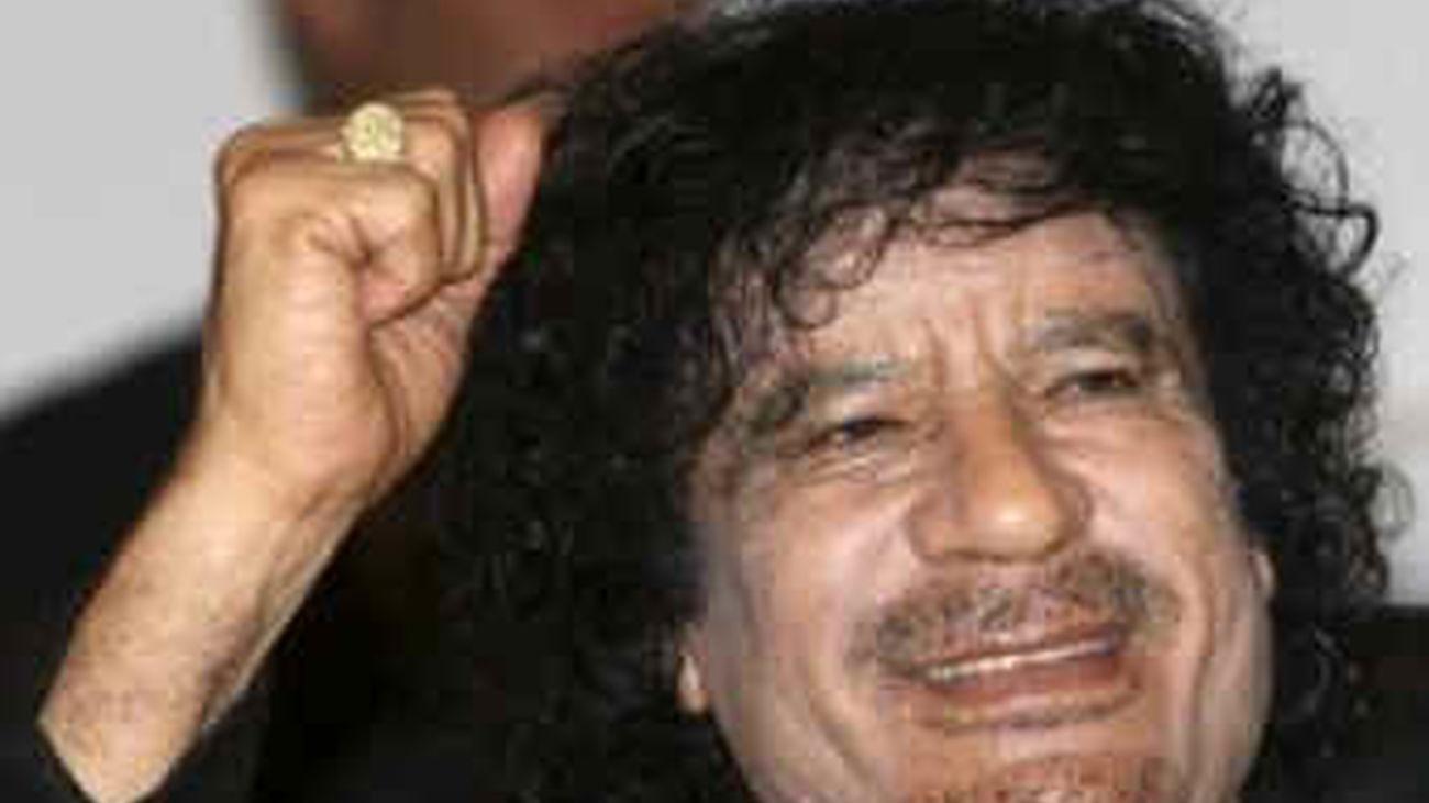 Gadafi, a los líderes internacionales: si intervienen en Libia lo lamentarán