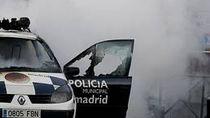 Imágenes de los disturbios en Vallecas