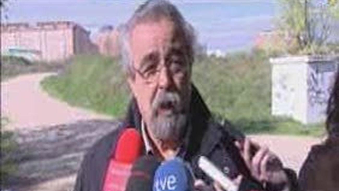 Pérez denuncia la degradación medioambiental que sufren algunos tramos del rio Manzanares