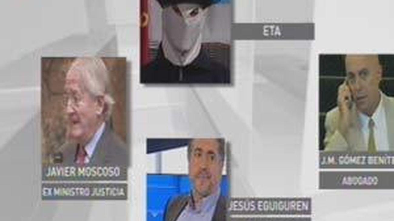 """El Gobierno, a ETA: """"Que salgamos reforzados en las elecciones es básico"""""""