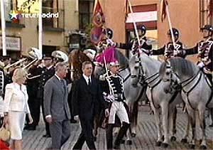 El Príncipe de Gales recibe las llaves de oro de Madrid y alerta del reto urgente de combatir el cambio climático