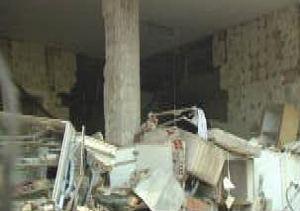 Heridas dos personas por una explosión de gas en un chalet de Madrid