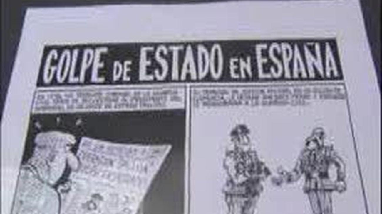 Mortadelo, Tarzán y el Capitán Trueno llegan a Barcelona