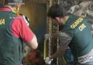 La Guardia Civil recupera un Goya y un Greco  que llevaban desaparecidos 14 años