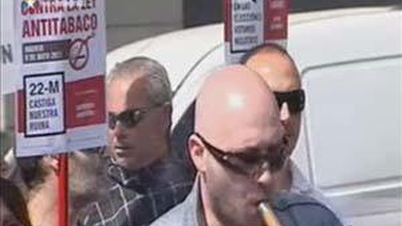 Manifestaciones contra la Ley Antitabaco