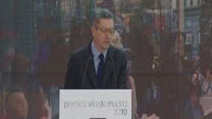 Plácido Domingo recibe el Premio Villa de Madrid de Proyección Internacional