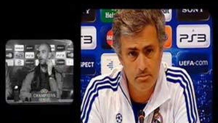 La polémica entre Mourinho y Guardiola centra la comida entre ambas directivas
