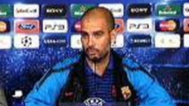 """Guardiola: """"Un equipo con nueve Copas de Europa no da nada por perdido"""""""